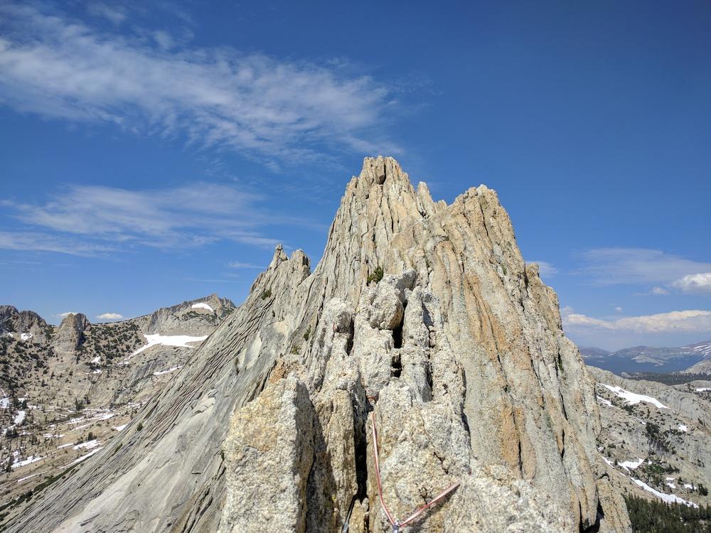 the Matthes Crest ridge